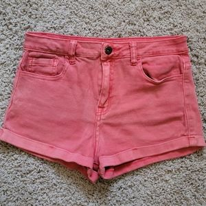 Red/pink shorts